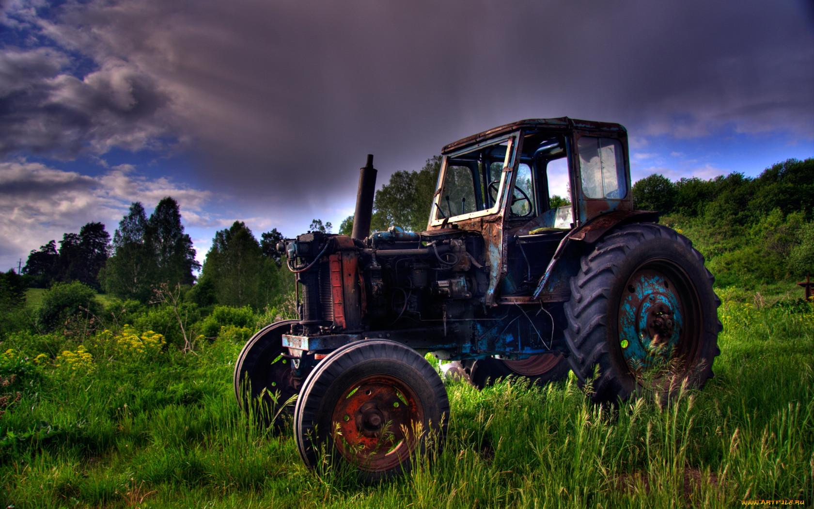 Картинки на рабочий трактора
